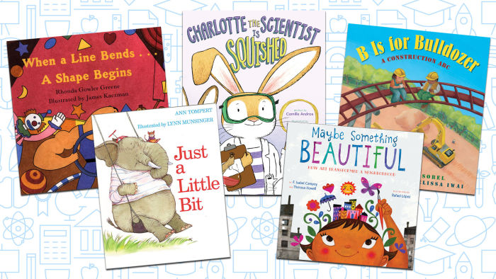 Selection of STEAM picture books