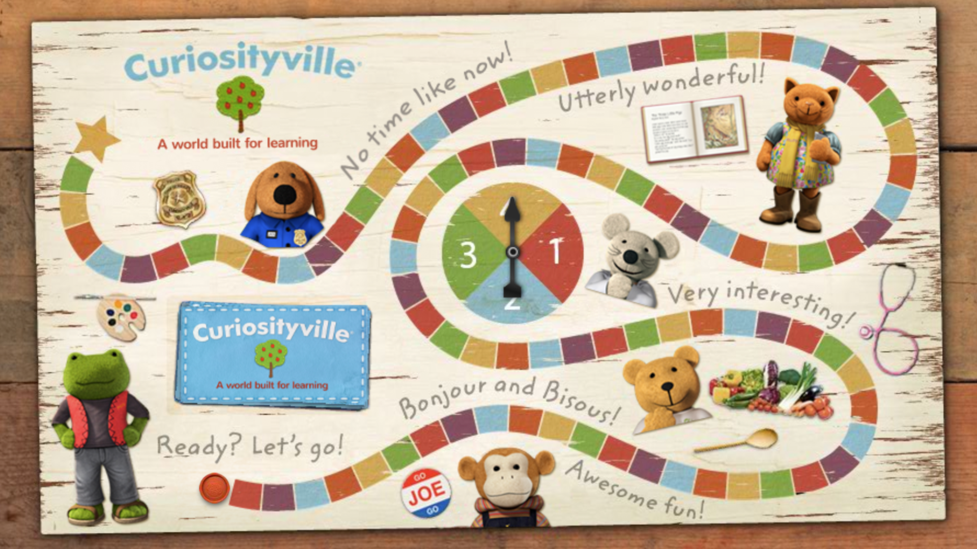Preschool social skills - Board games for kids