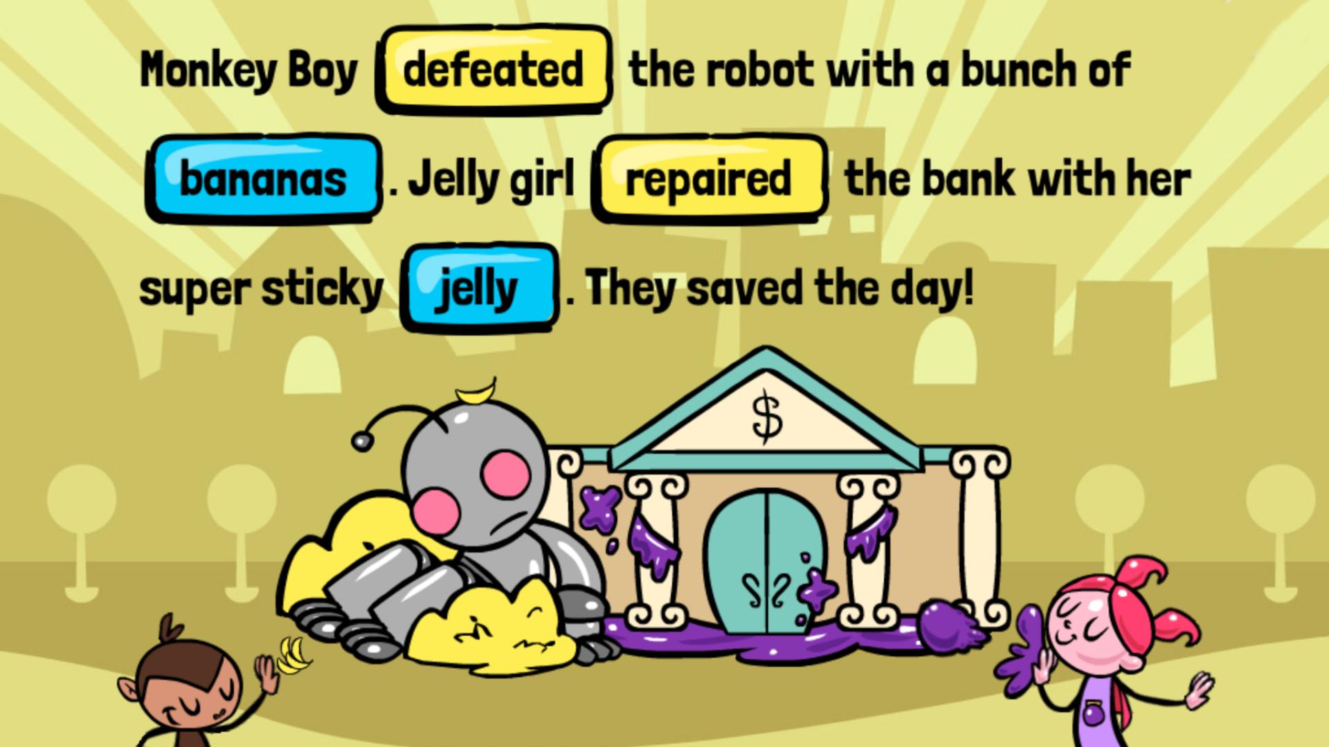 Read Across America Book List - Robot vs Bananas