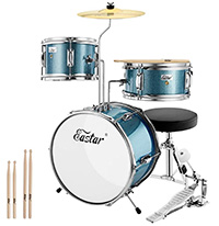 Kids Drum Set - Eastar
