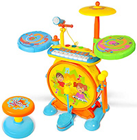 Kids Drum Set - Toonit