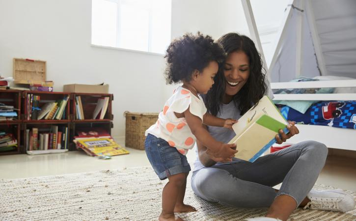 Read Across America Book List - Mother reading aloud to child